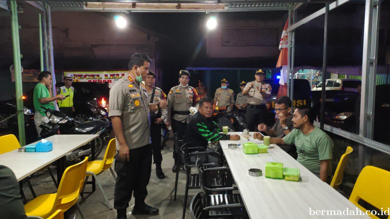 Polres bersama Kodim 0302/Inhu Gelar Patroli Skala Besar