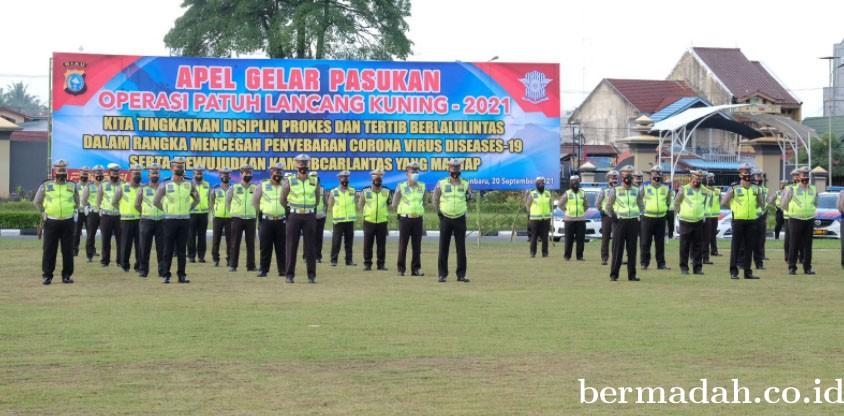 Polda Riau Gelar Ops Patuh Lancang Kuning 2021