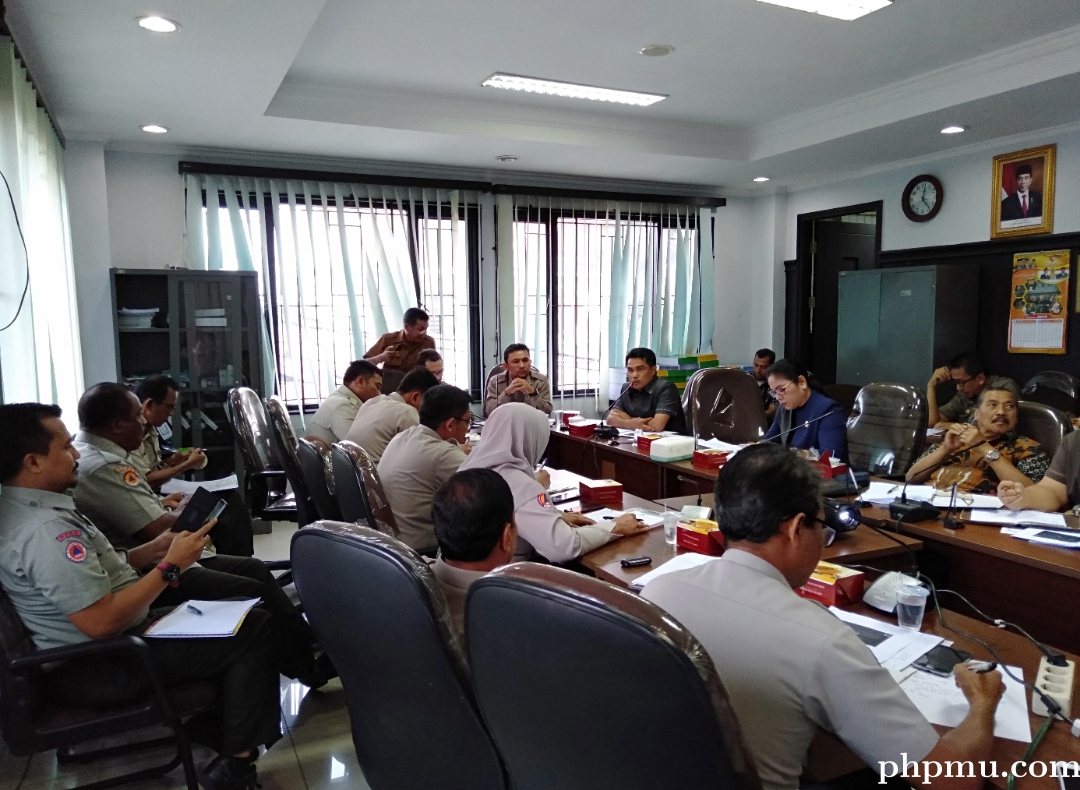 Untuk Meningkatkan Kualitas Kerja, Komisi Hearing dengan BPBD Pekanbaru