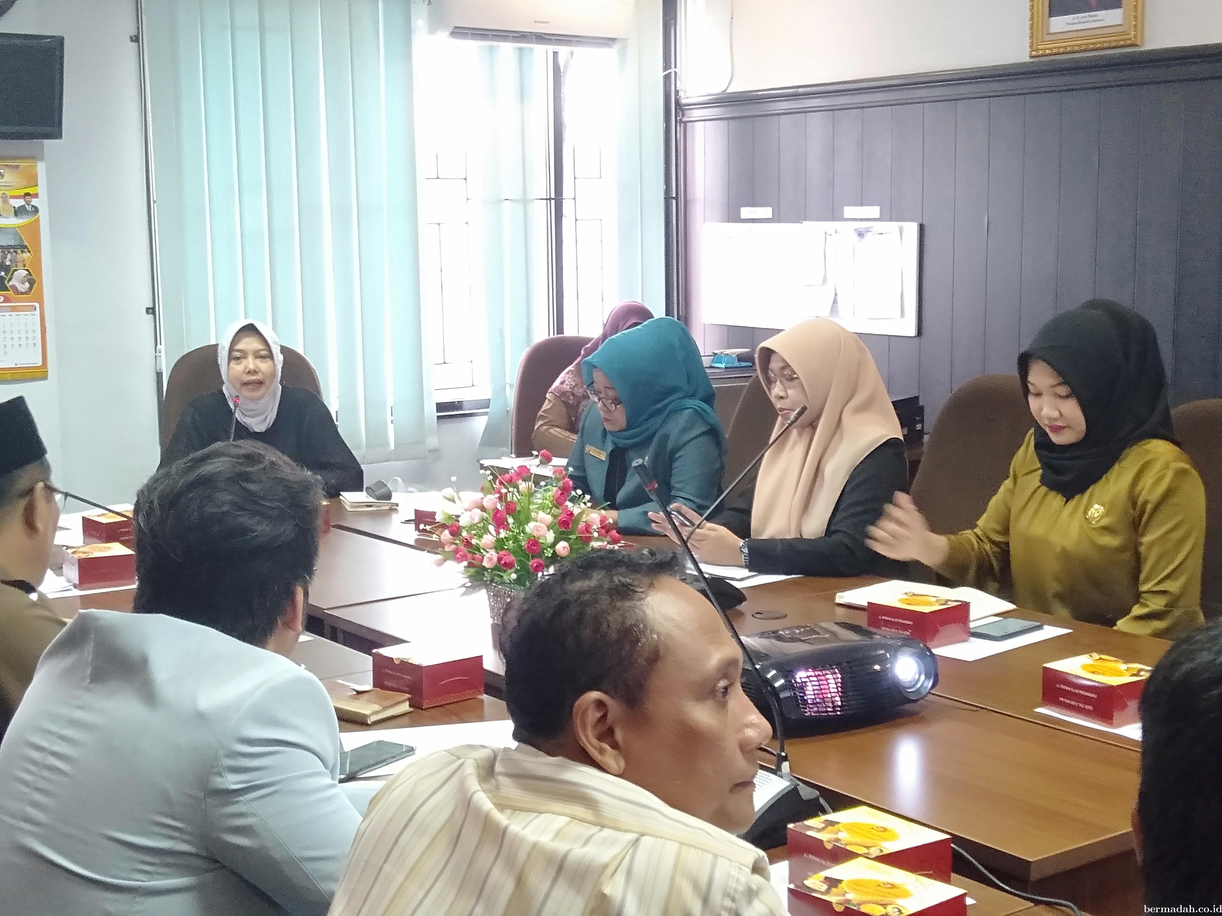 Tanyakan Progres Sukaramai Trade Centre, Komisi II Hearing Bersama PT MPP