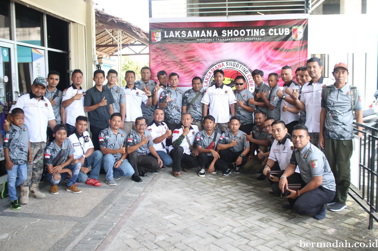 Silaturahmi, Laksamana Shooting Club Adakan Syukuran Bersama Anggota