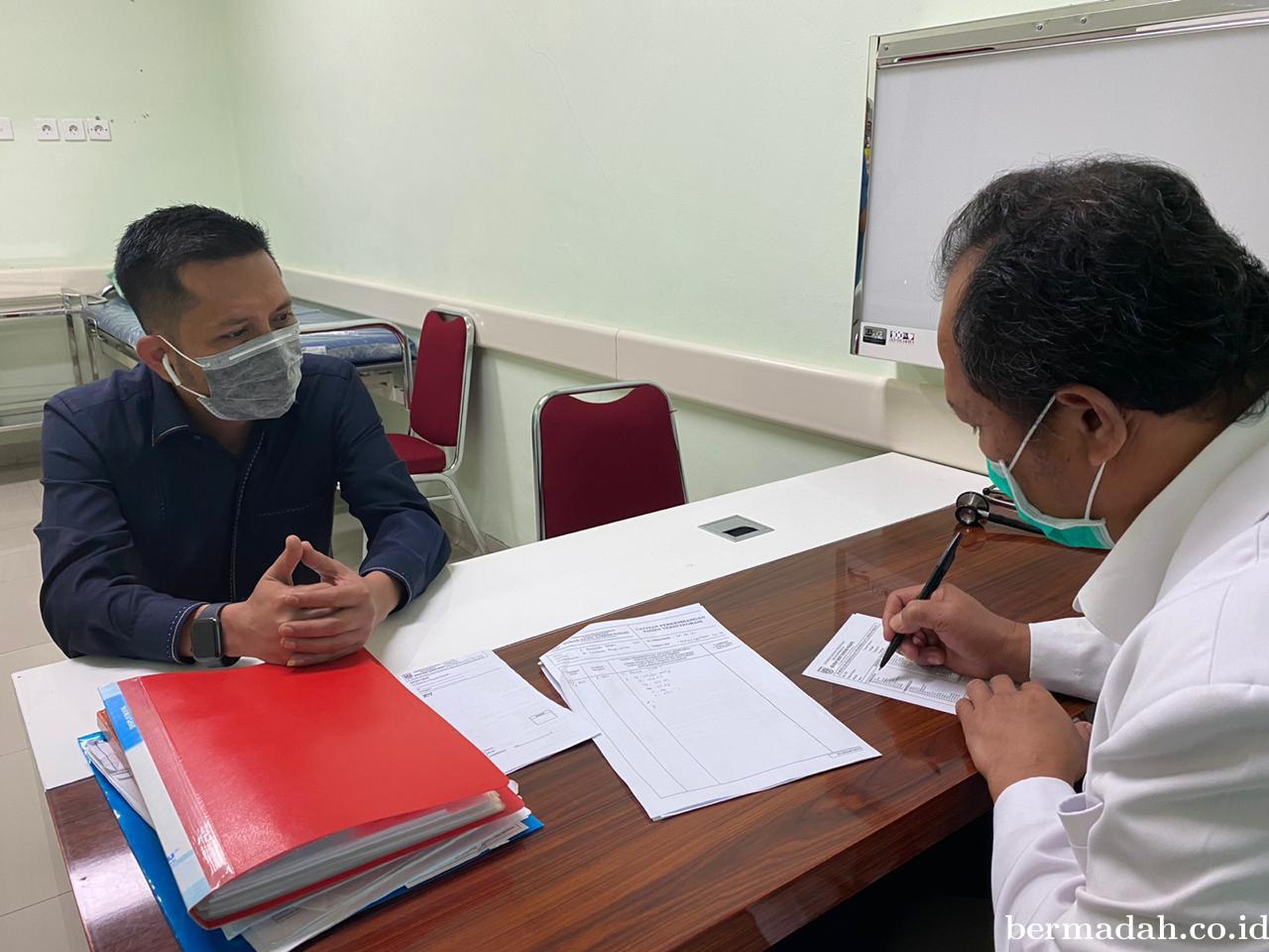 Tes Covid-19 Secara Mandiri, Azwendi Berharap Koleganya di DPRD Lakukan Hal Serupa