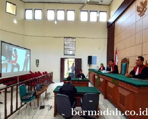 Antisipasi Penyebaran Virus Corona, PN Pelalawan Terapkan Sidang Video Conference