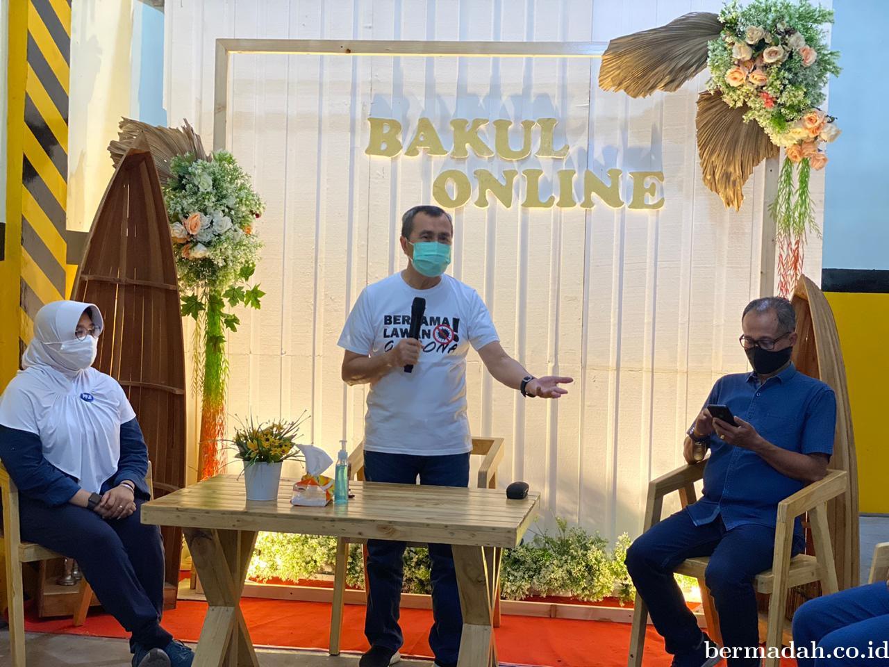 Sempena Hari Jadi Pekanbaru ke-236, PPJI Riau Gelar Bazar Kuliner Online