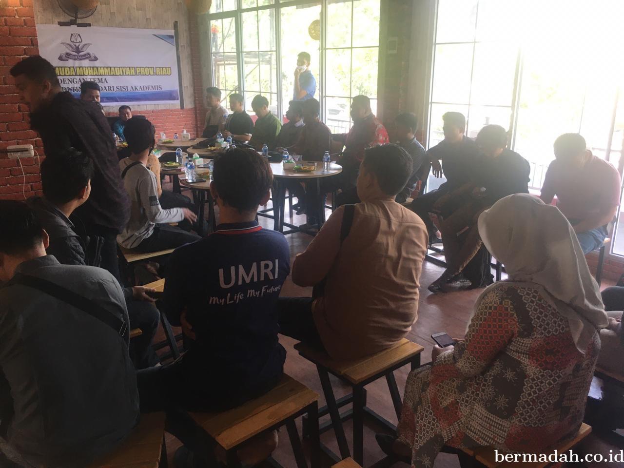 Pemuda Muhammadiyah Riau Diskusi RUUHIP