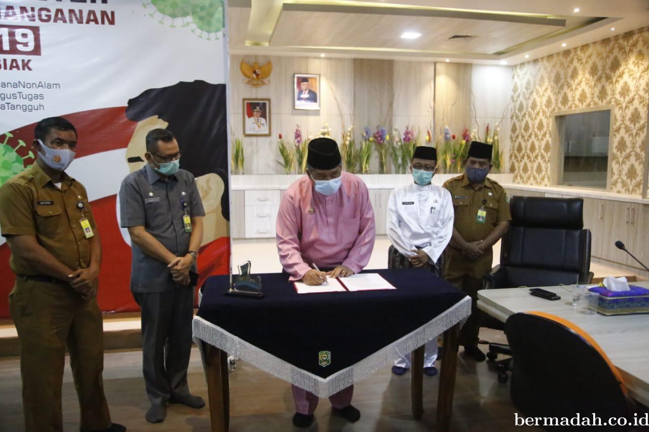 Paripurna DPRD Siak Setujui Enam Ranperda Disetujui