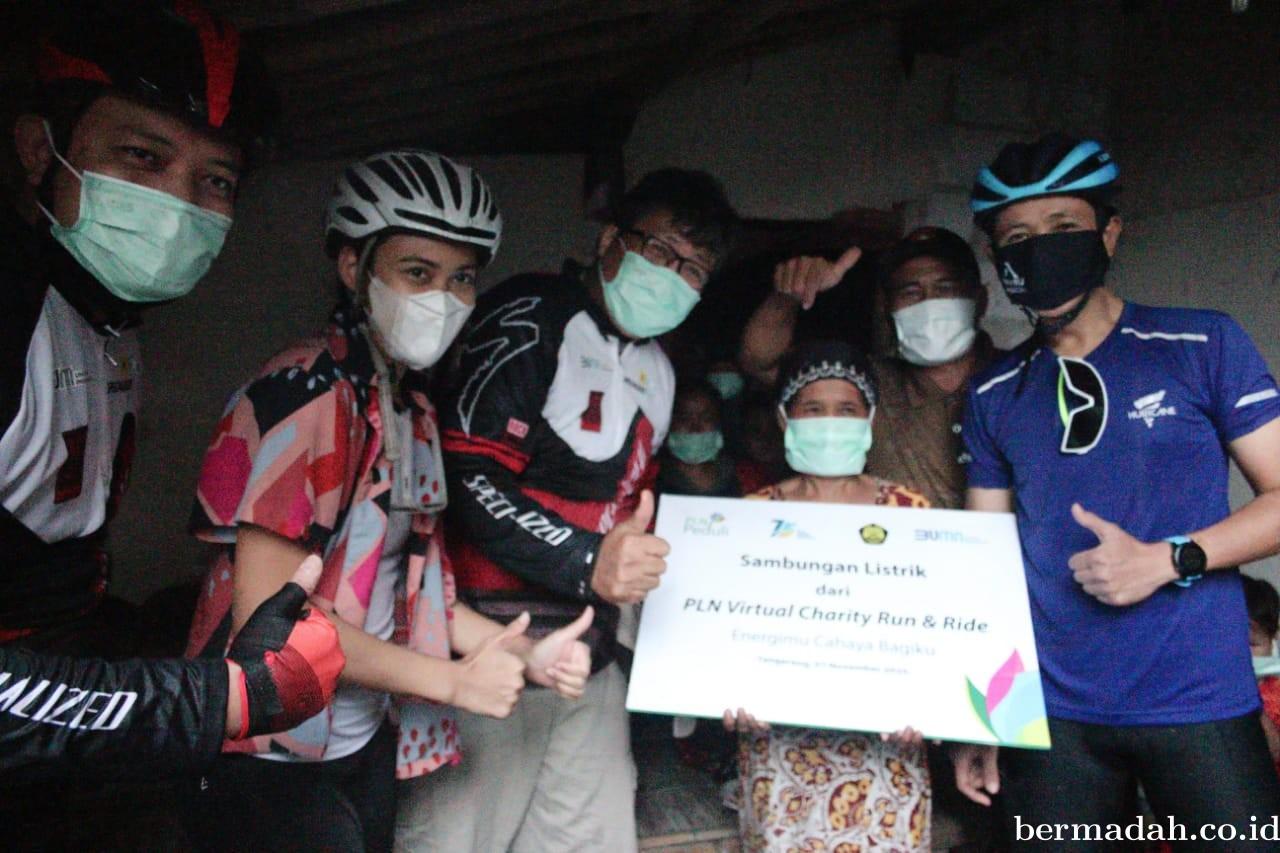 Galang Donasi, Lebih dari 8 Ribu Keluarga Pra Sejahtera Nikmati Sambungan Listrik Gratis