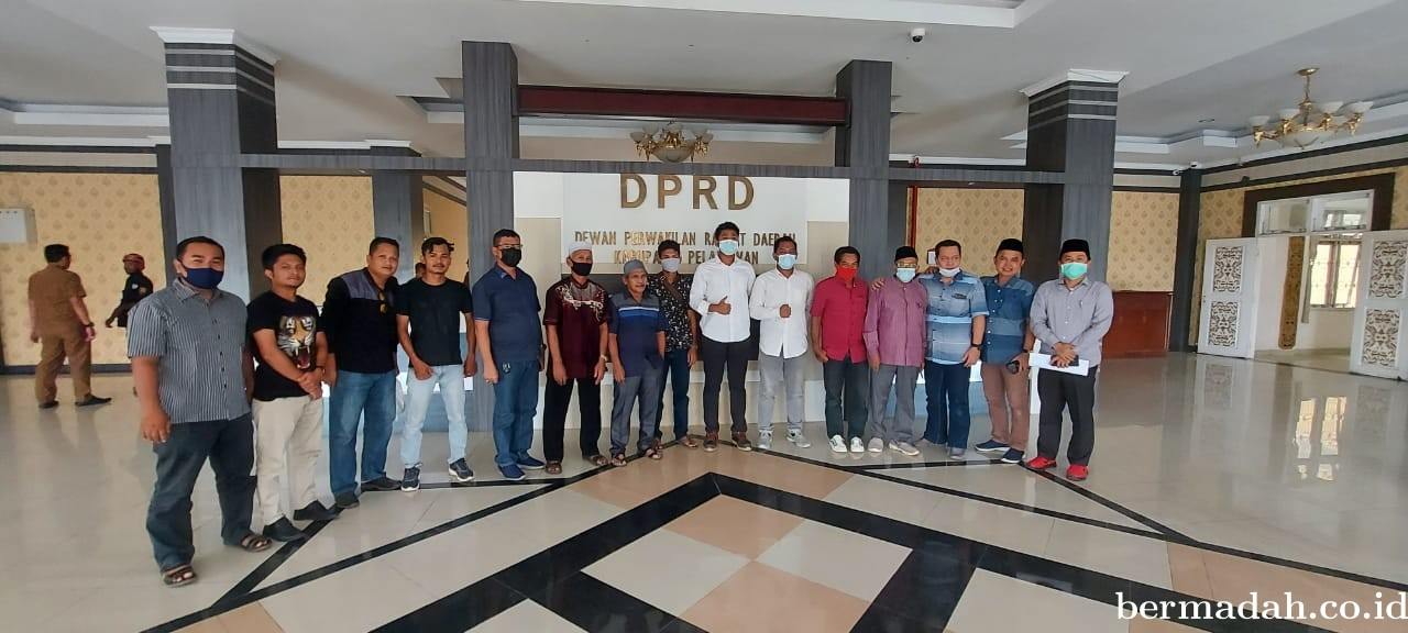 Junaidi Purba ST: Komisi III DPRD Pelalawan Dukung Listrik 24 Jam Desa Kuala Panduk