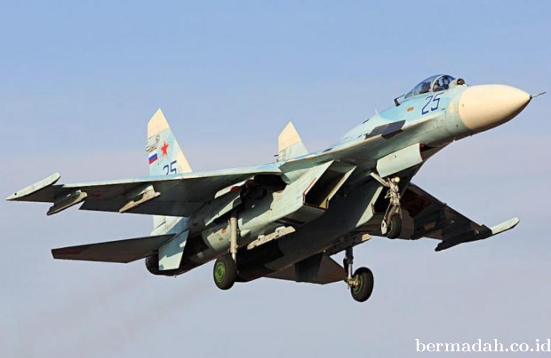 Pesawat Tempur Canggih Rusia Alami Kecelakaan di Laut Hitam