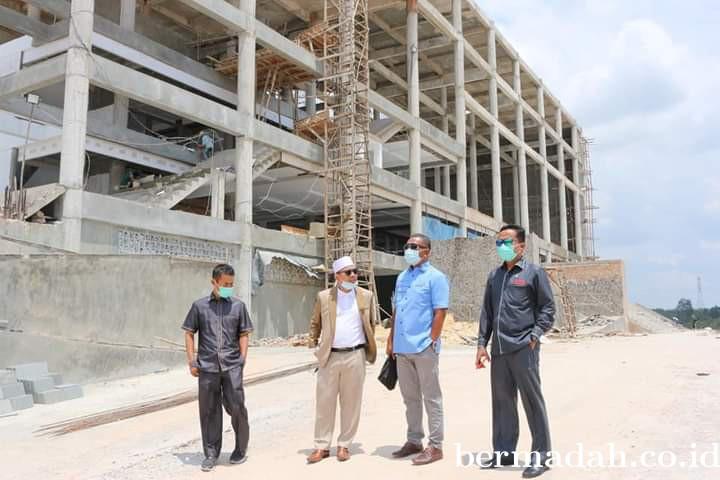 Komisi IV Kunlap Lihat Progres Islamic Center