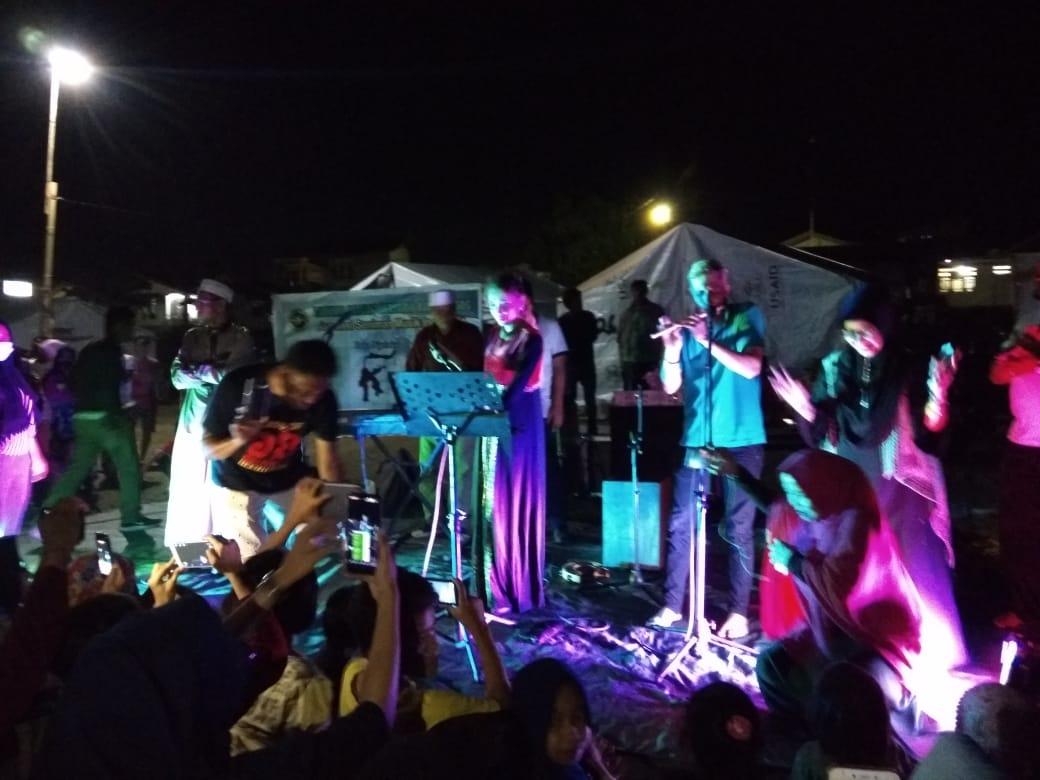 Panggung Palu Bangkit di Lokasi Pengungsian 170 KK di Donggala, Sulawesi Tengah - (Ada 0 foto)